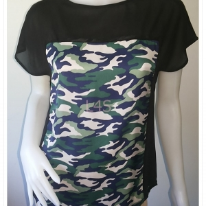 BN4513--เสื้อผ้ามือสอง--เสื้อแฟชั่น ชีฟอง แบรนด์ JASPAL อก 36 นิ้ว