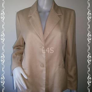 BN4197--เสื้อสูท นำเข้า สีกากี แบรนด์เนม ALFRED DUNER อก 42 นิ้ว