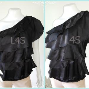 jp3693-เสื้อแฟชั่น นำเข้า สีีดำ The Hanger อก 34 นิ้ว