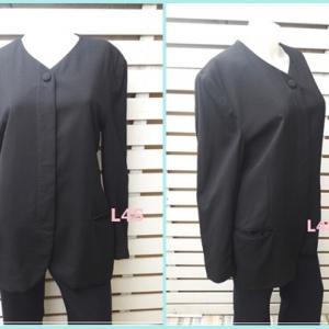 เสื้อคลุม มือสอง สีดำ อก 38 นิ้ว