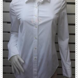 jp4863---เสื้อแฟชั่น นำเข้า สีขาว Halogen อก 35 นิ้ว
