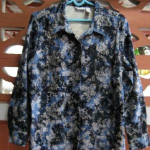 man0003----เสื้อเชิ้ต สีฟ้าสดใส cascade blue อก 44 นิ้ว