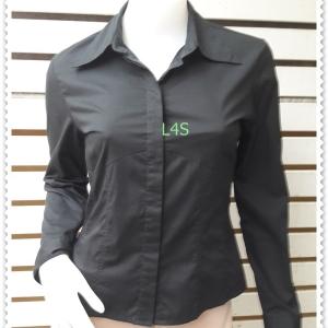 เสื้อเชิ้ต แบรนด์ สีดำ CLASSIFY อก 34 นิ้ว