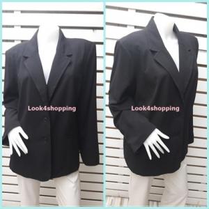 เสื้อสูท มือสอง นำเข้า สีดำ อก 46 นิ้ว