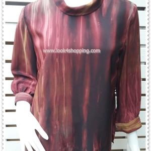 jp4979-เสื้อแฟชัน นำเข้า สีแดง อก 38 นิ้ว