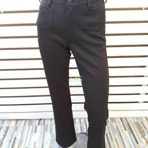 BNB1505-กางเกงผ้า สีน้ำตาลเข้ม X=ACT