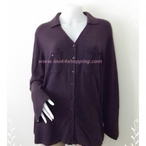 BNK0192--เสื้อคลุมนิตติ้ง นำเข้า แบรนด์เนม FASHION BUG อก 48 -52 นิ้ว