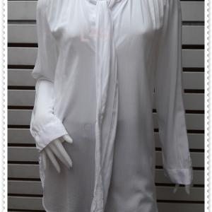 BN4773--เสื้อแฟชั่น นำเข้า แบรนด์เนม สีขาว ANN TAYLOR LOFT อก 41 นิ้ว