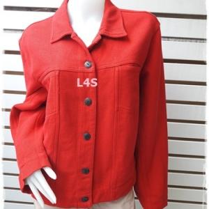 เสื้อคลุมแฟชั่น นำเข้า มือสอง สีแดง CHICO'S อก 44 นิ้ว