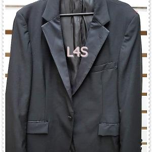 """เสื้อสูทชาย สีดำ นำเข้า แบรนด์ after six """"อก 40 นิ้ว"""""""