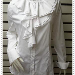 BN4815--เสื้อแฟชั่น นำเข้า สีขาว BCBG อก 38-39 นิ้ว