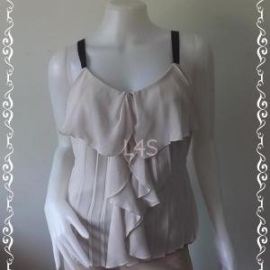 jp4308-เสื้อแฟชั่น นำเข้า สีขาวเทา FRAY I D อก 34 นิ้ว
