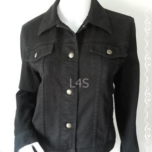 BNjean0048--เสื้อแจํคเก็ตยีนส์ สีดำ นำเข้า แบรนด์ RALPH LAUREN JEANS CO.