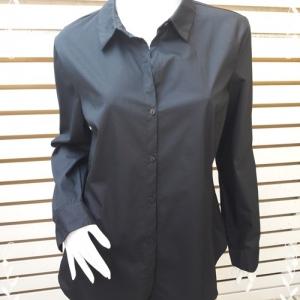 BN4642--เสื้อเชิ้ต แบรนด์เนม สีดำ WORTHINGTON อก 41 นิ้ว