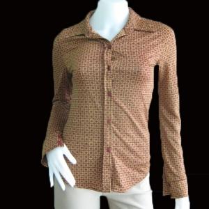 BNJ0358--เสื้อเชิ้ต แฟชั่น แบรนด์เนม Forever 21 อก 30-32 นิ้ว
