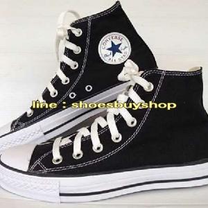 รองเท้า converse หุ้มข้อ สีดำ