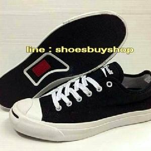 รองเท้า converse Jack Purcell สีดำ