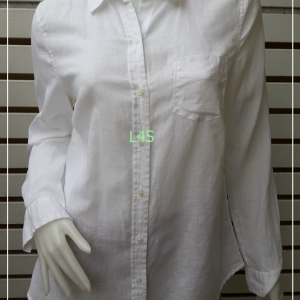 เสื้อเชิ้ต นำเข้า สีขาว OLD NAVY อก 38 นิ้ว