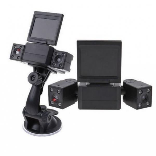 รูปภาพสินค้า กล้องติดรถยนต์2 เลนส์ Two Camera Car DVR