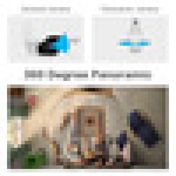 รูปภาพสินค้า SDETERหลอดไฟโคมไฟ ซ่อนกล้องวงจรปิดไร้สาย IP Wifi 960จุดPanoramic