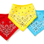 BANDANA BIBS (RED/YELLOW/BLUE) thumbnail 2