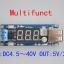 DC-DC XL4015 Step down module voltmeter + 5 V USB charger power supply input 4.5v-40v output 5V/2A thumbnail 2