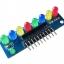 บอร์ดทดลอง LED Module 8ดวง 5mm สีผสม thumbnail 3