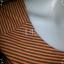 """BNS0257--เดรสแฟชั่น ผ้ายืดcotton ลายทางสีส้ม H&M """"อก 28-32 นิ้ว"""" thumbnail 5"""