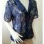 เสื้อผ้าลูกไม้ สีน้ำเงิน มือสอง แบรนด์ Victoria s Secret อก 36-38 นิ้ว thumbnail 3