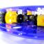 โครงรถ หุ่นยนต์ 4WD สีน้ำเงิน smart car chassis thumbnail 7