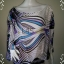 BN3849--เสื้อแฟชั่น silk แบรนด์เนม bebe อก free thumbnail 1
