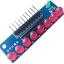 บอร์ดทดลอง LED Module 8ดวง 5mm สีแดง thumbnail 1