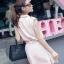 ชุดเดรส สีชมพู เสื้อคอปกติดกระดุมสวยงาม thumbnail 4