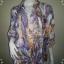 """BN3895--เสื้อผ้ามือสอง-->เสื้อคลุมแฟชั่น ชีฟอง h&m """"อก free """" thumbnail 1"""