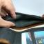 กระเป๋ามือสอง กระเป๋าสตางค์ ใบยาว หนังนูบัค แนววินเทจ สภาพดีมาก thumbnail 7