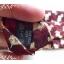 neck0032-เนคไทแบรนด์มือสอง Ermenegildo Zegna สีเลือดหมู ลายสุนัข thumbnail 5