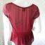 เสื้อแฟชั่น ชีฟอง สีแดง ANN taylor อก 36 -37 นิ้ว thumbnail 3