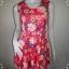 "BNS0252--เดรสแฟชั่น ผ้ายืด ลายดอกไม้ สีสดใส forever21 ""อก 29-33 นิ้ว"" thumbnail 1"