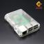 Raspberry Pi 2/3 Model B/B+ shell case box กล่อง เคส Raspberry Pi 2/3 สีขาว thumbnail 4