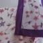 """BNS0073-- เดรสชีฟอง ลายดอกไม้ สีขาว FOF weekend """"อก 38 นิ้ว"""" thumbnail 5"""
