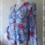 jp4282-เสื้อแฟชั่น ชีฟองโพลี นำเข้าญี่ปุ่น สีฟ้า SEULE 21 อก 36 นิ้ว thumbnail 2