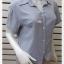 jp5042-เสื้อแฟชั่น นำเข้า สีฟ้า อก 36 นิ้ว thumbnail 2