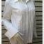 เสื้อเชิ้ต แบรนด์ สีขาว INC อก 35-37 นิ้ว thumbnail 2
