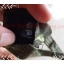 neck0028-เนคไทมือสอง Jean Pual Gaultier สีเขียวทหาร ลายหินอ่อน thumbnail 5
