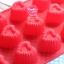 แม่พิมพ์ซิลิโคนทำขนม หัวใจ 15 ช่อง thumbnail 1