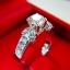 แหวนเพชรแท้ พร้อมใบเซอร์ GIA(ขายแล้ว) thumbnail 3