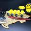 โครงรถ หุ่นยนต์ 4WD สีใส smart car chassis thumbnail 9