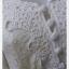 VJP5547--เดรสแฟชั่น ชีฟอง งานนำเข้า สีขาวครีม อก 33 นิ้ว thumbnail 5