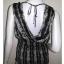 BN2668-- เสื้อผ้ามือสอง สีดำ แบรนด์ WHITE BLACK อก 35-38 นิ้ว thumbnail 2