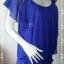 BN4481--เสื้อแฟชั่น ชีฟอง สีน้ำเงิน แบรนด์ CPS อก 35 นิ้ว thumbnail 2